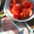 トマトとベーコン